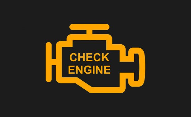 m&w tire check engine light